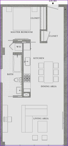 Excellent Image of Small Apartment Plans Layout . Small Apartment Plans Layout Great Simple Design Would Also Make A Great Rental Property 8 Small Apartment Plans, Apartment Floor Plans, Small Apartment Layout, Small House Layout, Studio Apartment Plan, Layouts Casa, House Layouts, Garage Apartments, Small Apartments