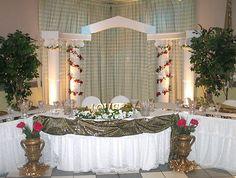 Purple Wedding Arch Hanging Flowers Pinterest Rustic And Weddings
