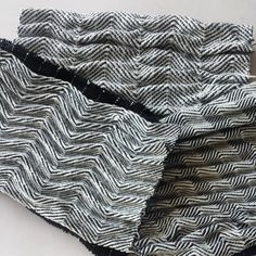 Fabric Manipulation - wave tucks on a woven fabric for added texture; textiles; sewing idea // Amy Bond