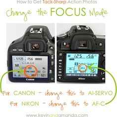 Photography Tutorial: A Quick Guide to Understanding Your DSLR Camera How to Get Tack-Sharp Action Photos, this is perfect. I have been wondering what Al-Servo is, and apparently it isn't some spanish direction. Photography Lessons, Photography Camera, Photoshop Photography, Photography Tutorials, Love Photography, Photography Reflector, Wedding Photography, Digital Photography, Photography Articles