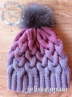 мк детская шапка спицами фото 13