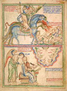Apocalypse   England and France, London   between 1255 and 1260   The Morgan Library & Museum