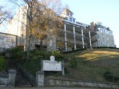 The Crescent Hotel & Spa in Eureka Springs, Arkansas ... take a Ghost Hunting Tour !