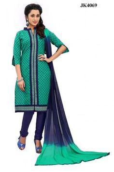 INQUIRY WHATSAPP /  Call- 91 9624913609 Women's Green And Blue Colour Simple & Sober Daily Wear Salwar Kameez / Office wear traditional http://www.justkartit.com/womens-green-and-blue-colour-simple-sober-daily-wear-salwar-kameez-office-wear-traditional-jk4069?utm_source=dlvr.it&utm_medium=facebook&utm_campaign=justkartit #Diwali