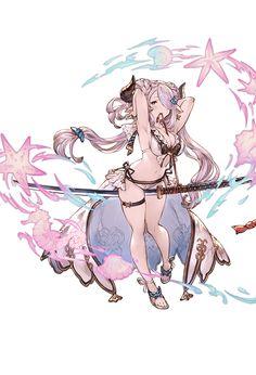 3040089000_01 Kawaii Anime Girl, Anime Art Girl, Manga Girl, Fantasy Character Design, Character Art, Anime Fantasy, Fantasy Art, Granblue Fantasy Characters, Accel World
