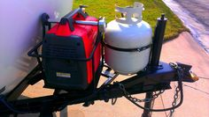 Double Honda Generator Tray And 6 Gallon Extended Run Fuel
