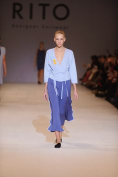 RITO Spring/Summer 2017 Fashion show in Ukrainian Fashion Week #knitwear #fashionshow #UkrainianFashionWeek