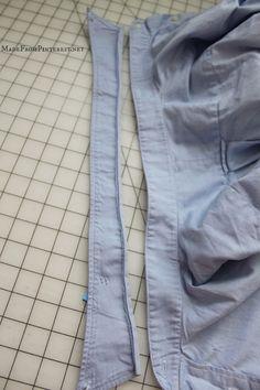 Pioneer shirt collar