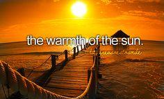 Love sun!