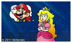 #PrincessPeach wishing #Mario would hurry up with the shopping.  More Mario & Peach at http://www.themariobros.net - dedicated to everything Mario