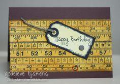 StampingMathilda: Masculine Birthday Card