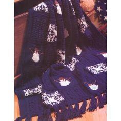 KW - Christmas Eve Afghan (knit)