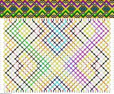 Learn to make your own colorful bracelets of threads or yarn. Bracelet Knots, Bracelet Crafts, Loom Beading, Beading Patterns, Card Weaving, Diy Friendship Bracelets Patterns, Macrame Design, Colorful Bracelets, Cross Stitch Embroidery