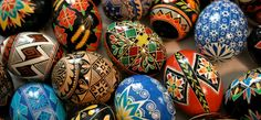 "What is a pysanka?    Simply put, it is an Easter egg decorated using a wax resist method. Its name derives from the Ukrainian verb ""pysaty,"" meaning ""to write."""