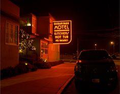"""San Francisco Neon"" Randall Ann Homan + Al Barna | Ocean Park Motel, 2014"