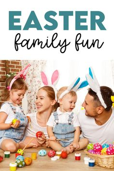 Easter Family Activities & Ideas Family Fun Games, Family Movie Night, Family Activities, Easter Activities For Kids, Holiday Traditions, Fun Ideas, Easter Activities For Children