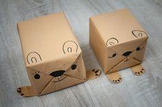 Geschenke originell einpacken leicht gemacht! Hier findet Ihr tierisch kreative Ideen, um Eure Geschenke originell zu verpacken - schaut vorbei!