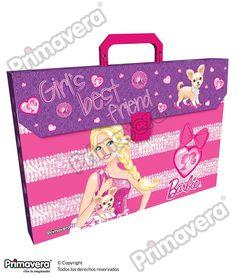 Maletín Plástico Mattel Barbie http://escolar.papelesprimavera.com/product/maletin-plastico-mattel-barbie-primavera/