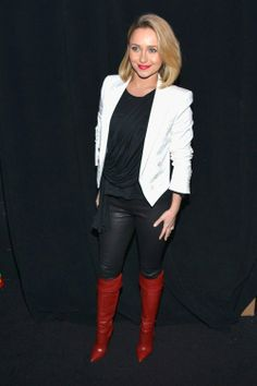 Hayden Panettiere Time Warner and Revolt Bring the Music Revolution event February 1 2014