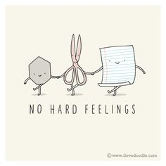 No hard feelings by ilovedoodle by ILoveDoodle, via Flickr