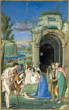 Adoration of the Shepherds Francesco di Marco Marmitta da Parma (Emilian, 1457–1505)
