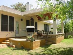Covered Patio Ideas | The Covered Patio is Really an Extension of your Home | Austin Decks ...