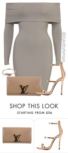 """Untitled #1226"" by tamararenaye ❤ liked on Polyvore featuring Louis Vuitton, Charlotte Russe and Katie Rowland"