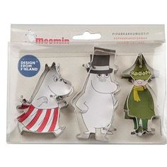 These charming cookie cutters. | 21 Ways To Subtly Cover Your Home In Moomins