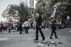 Occupy Istanbul (part 4) by Barbaros Kayan, via Behance