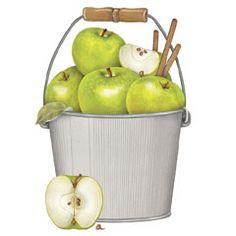 ✿Basket fruits & Vegetables✿ Green Apples