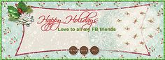 Love how Lana used Kristin Cronin-Barrow's Christmas Wishes Premier Kit as her Facebook Timeline Cover!