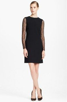 Michael Kors Lace Sleeve Dress on shopstyle.com
