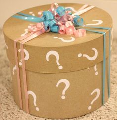 @Makayla Jennings Mahan one single balloon or something else, but this box is cute!