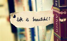 Resultado de imagen para life is beautiful