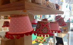 Mini lamp shade fairy lights