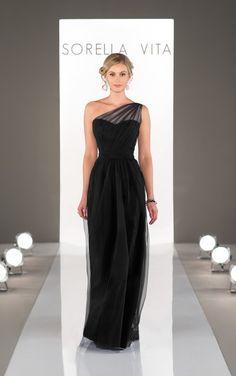 8674 Romantic Bridesmaid Dress by Sorella Vita