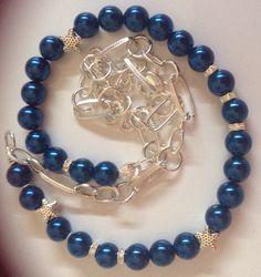 diy collana perle e catena