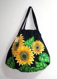 Resultado de imagen para bolsos de lona pintados a mano
