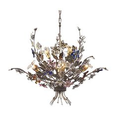 Found it at Joss & Main - Brillare 6 Light Candle-Style Chandelier  for over the stairs?