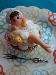 Bathing Cupcake