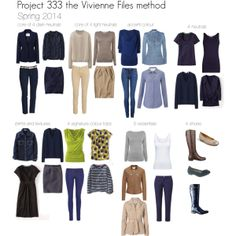"""Project 333 spring 2014"" by lillyicity on Polyvore"