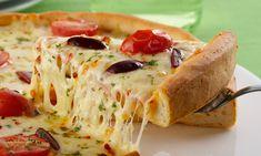 › MdeMulher › Culinária › Receitas Pizza caseira com dois queijos