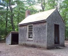 Henry Thoreau's cabin at Walden Pond. true dream house.