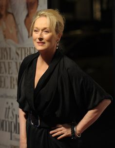 """Meryl Streep Actress Meryl Streep attends the New York premiere of """"It's Complicated"""" at The Paris Theatre on December 9, 2009 in New York City."""