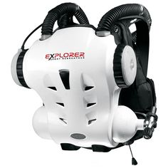 Hollis Explorer Rebreather - The Explorer is unique in using a single gas; Nitrox, and is electronically controlled to achieve an optimal balance of and dive time. Plug and Play absorbent cartridges, easy guided setup with go or no go, tracking, Scuba Diving Gear, Cave Diving, Technical Diving, Diver Down, Surf, Scuba Diving Equipment, Deep Diving, Explorer Sport, Water Toys