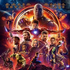 Just one more week until we see the @Avengers duke it out with Thanos! #InfinityWar