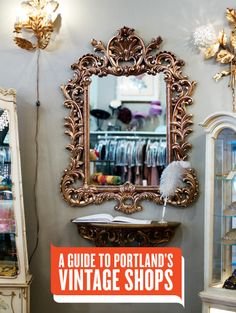 We tour Portland's local vintage stores to help you determine where to shop for that perfect old-school party dress, kitchen set, coffee table, and more. Portland Oregon, Oregon Washington, Portland Shopping, Travel Portland, Stuff To Do, Things To Do, Free Things, Oregon Travel, Oregon Vacation