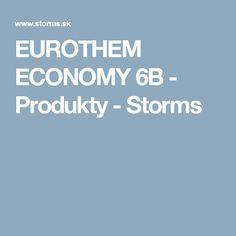 EUROTHEM ECONOMY 6B  -  Produkty  -  Storms
