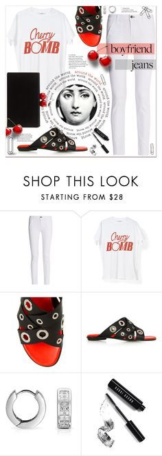 """Cherry BOMB!"" by rinagern ❤ liked on Polyvore featuring rag & bone, Proenza Schouler, Bling Jewelry, Tema, Bobbi Brown Cosmetics and Edie Parker"