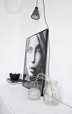 Via House by T | Scandinavian | Nordic Interior | Black and White